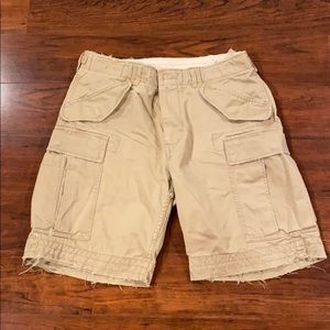Polo by Ralph Lauren distressed cargo shorts!